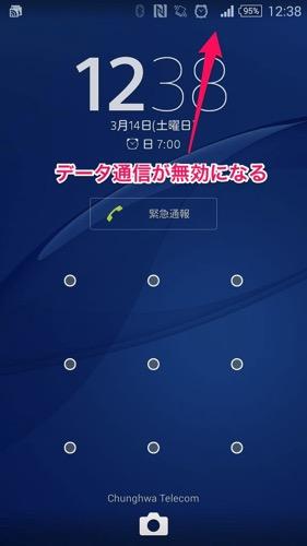 中華電信の語学留学生向けプリペイドプラン:3Gデータ通信の切断が頻発