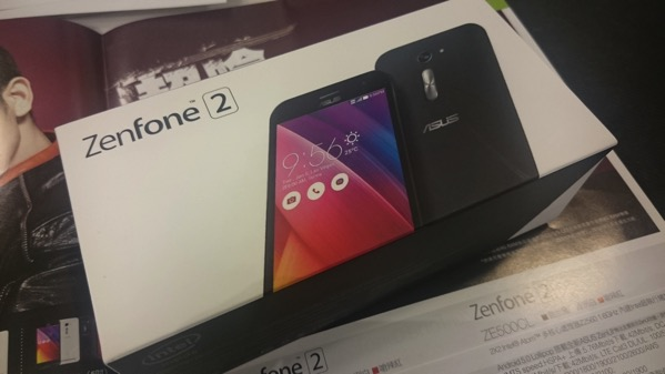 台湾でZenFone 2(ZE500CL)を購入!最安モデルは約19,000円