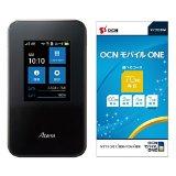 モバイルWi-Fiルータ『MR03LN』とOCN モバイル ONEのSIMカードがセットで15,300円の特価!