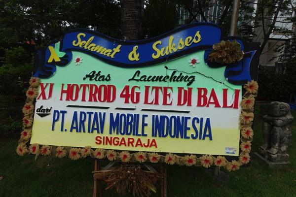 XL HOTROD 4G LTE DI BALI