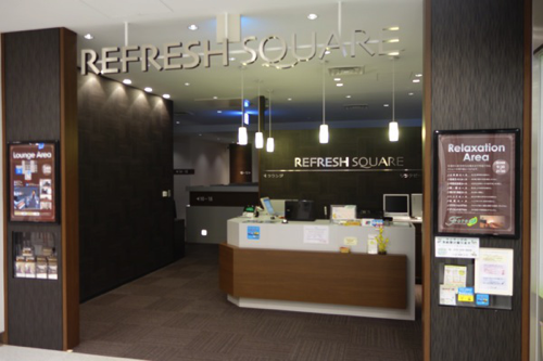 関西国際空港 Refresh Square