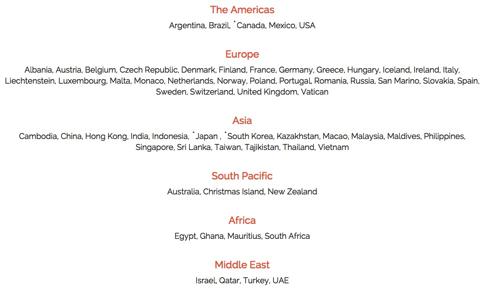 Skyroamの対応エリアが世界45か国 → 60か国へ拡大