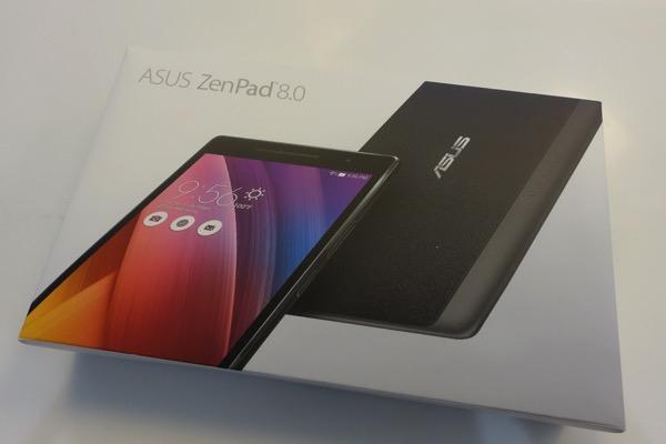 購入したZenPad 8.0