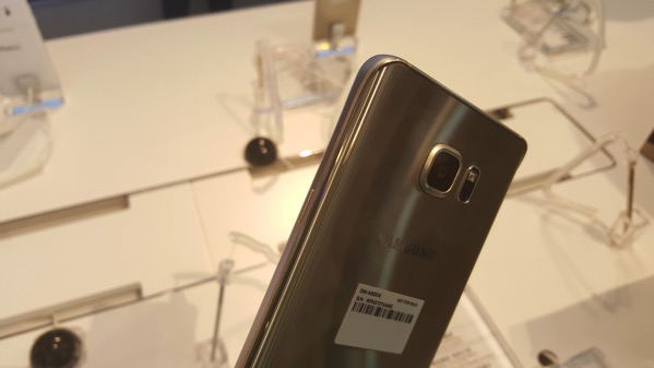 Galaxy Note5 琉光金