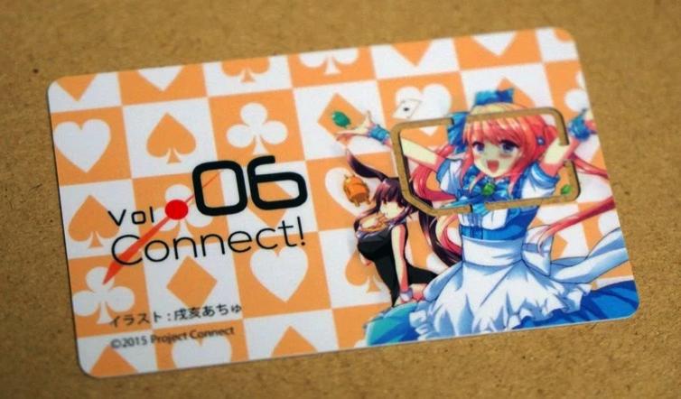 痛SIMカード(観賞用)