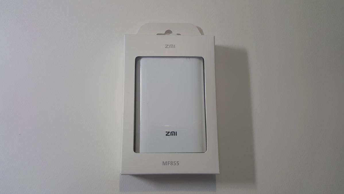Battery Wi-Fi MF855を写真で紹介