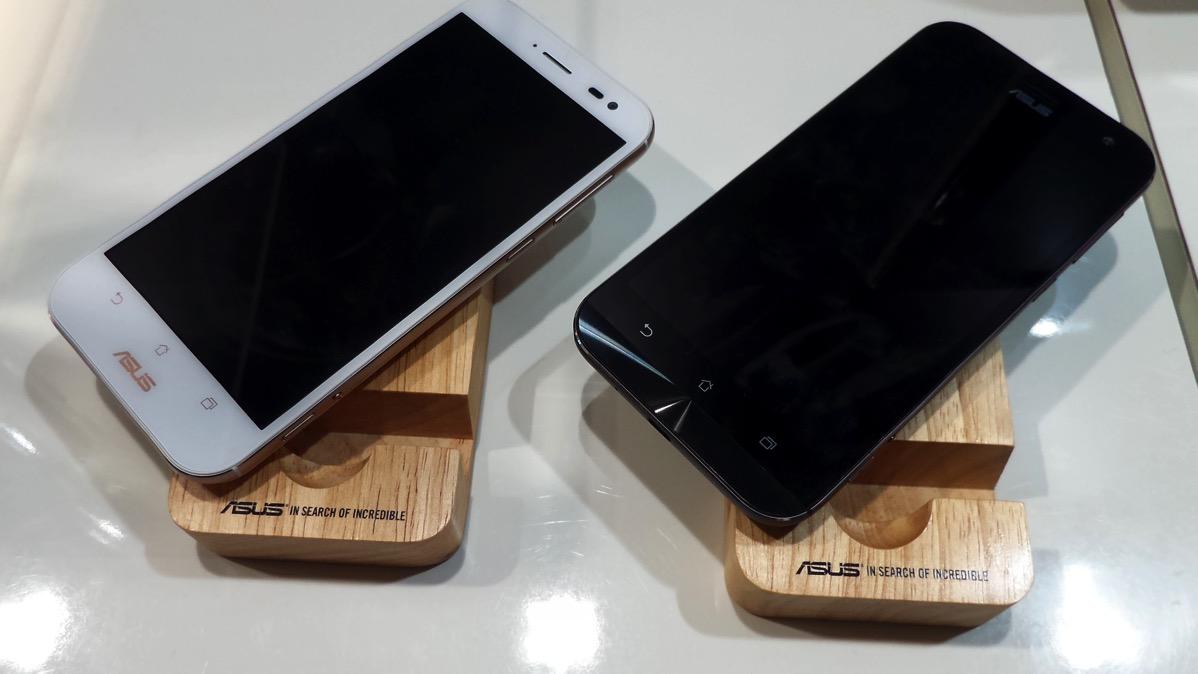 ZenFone Zoom:プレミアムレザーカバーモデル