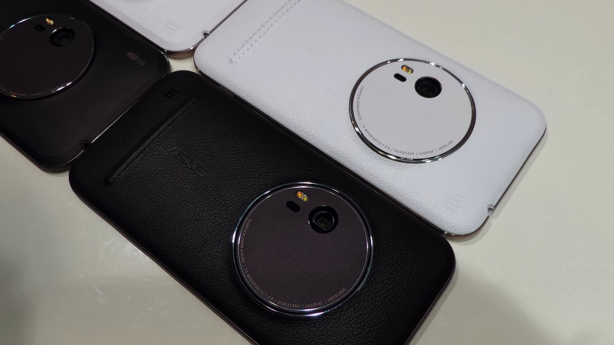 光学3倍ズーム対応、ZenFone Zoomが本日より発売 – プレミアムレザーモデル64GBで税別59,800円