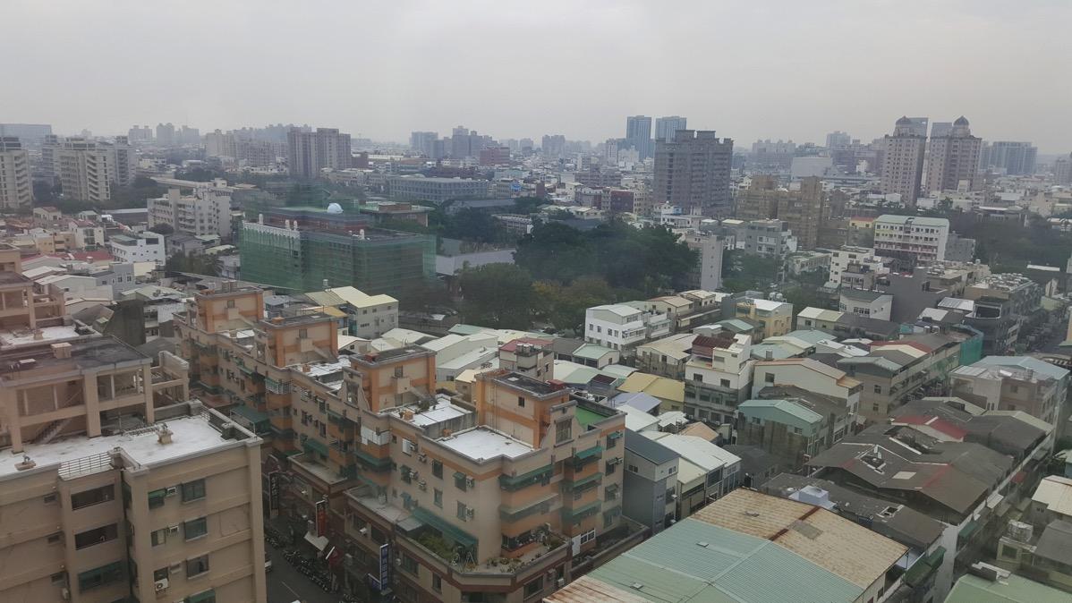 台南市内中心部の様子