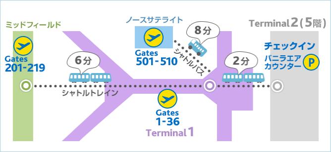 バニラエア:香港国際空港ガイド