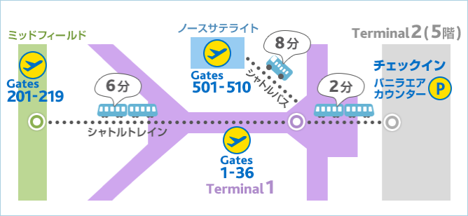 LCC各社、香港国際空港の新コンコース運用開始に伴う所要時間を発表 – 「乗り遅れ」にご注意を