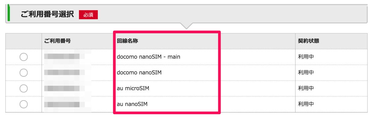 mineo、マイページ上で「回線名称」の設定が可能に – 回線毎の管理が行いやすく