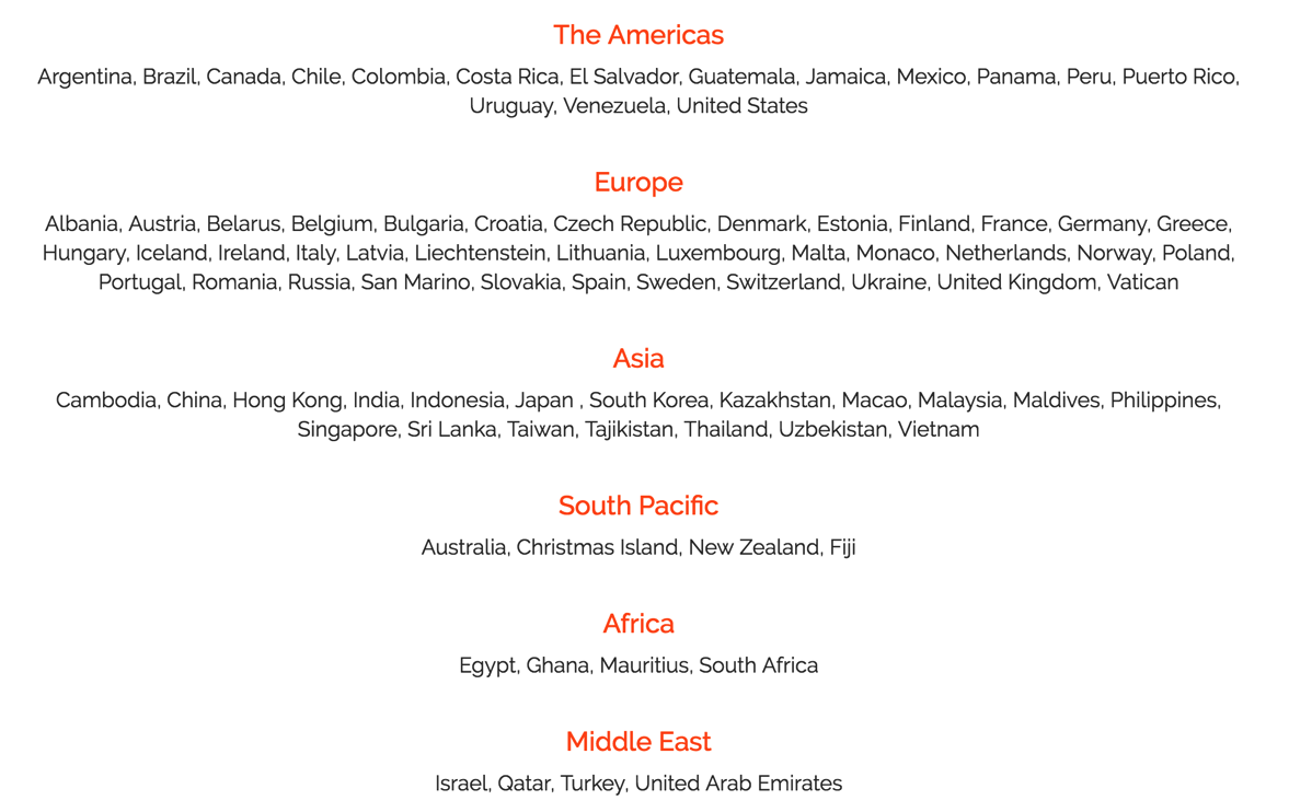 世界中で使えるモバイルWi-Fiルータ「Skyroam」対応エリアが60か国 → 80か国に拡大