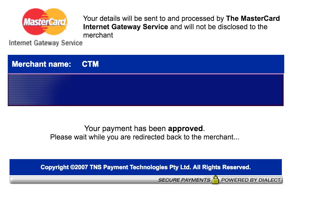 CTMのオンラインチャージを試す