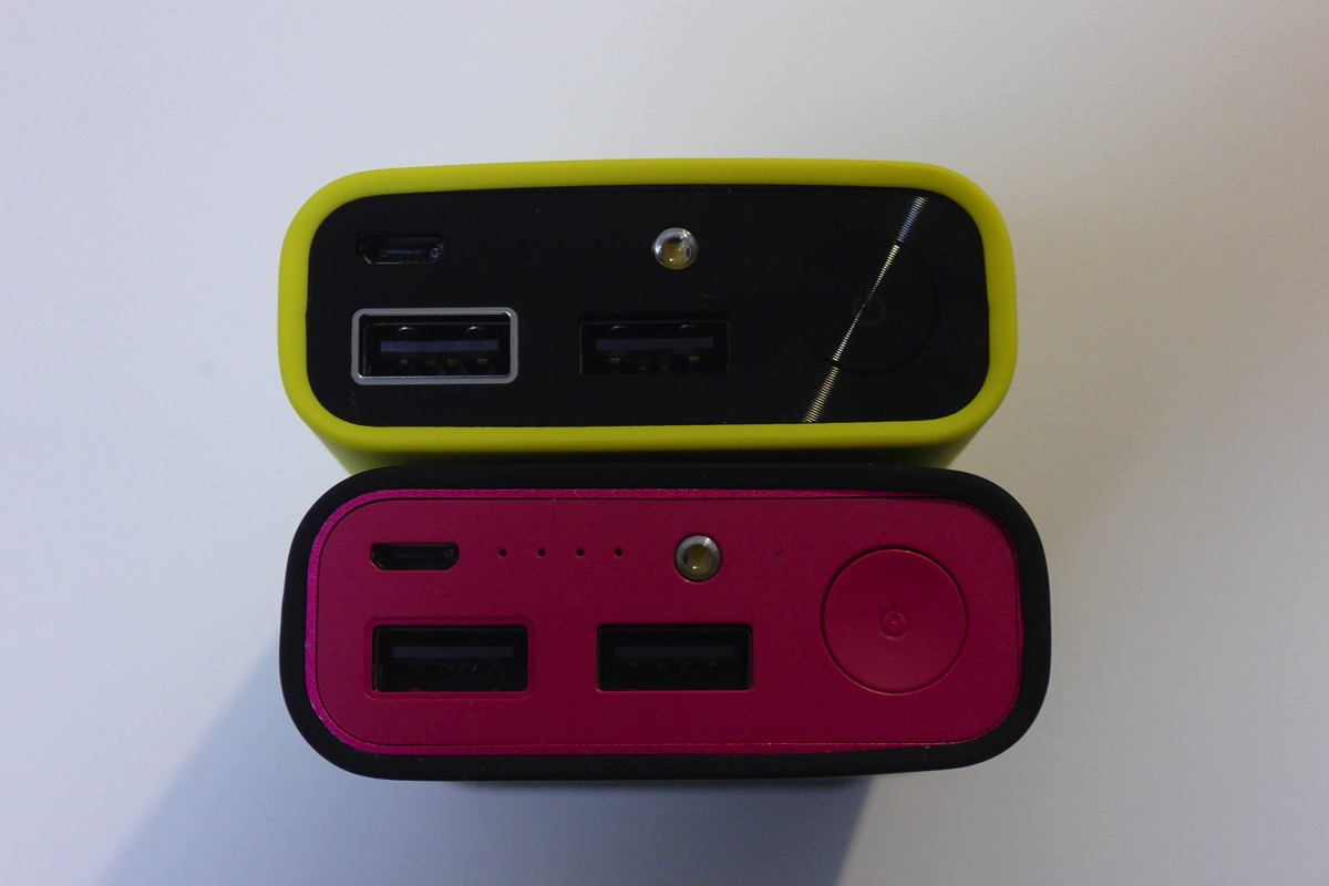 ZenPower Pro(ブラック/ピンク)比較