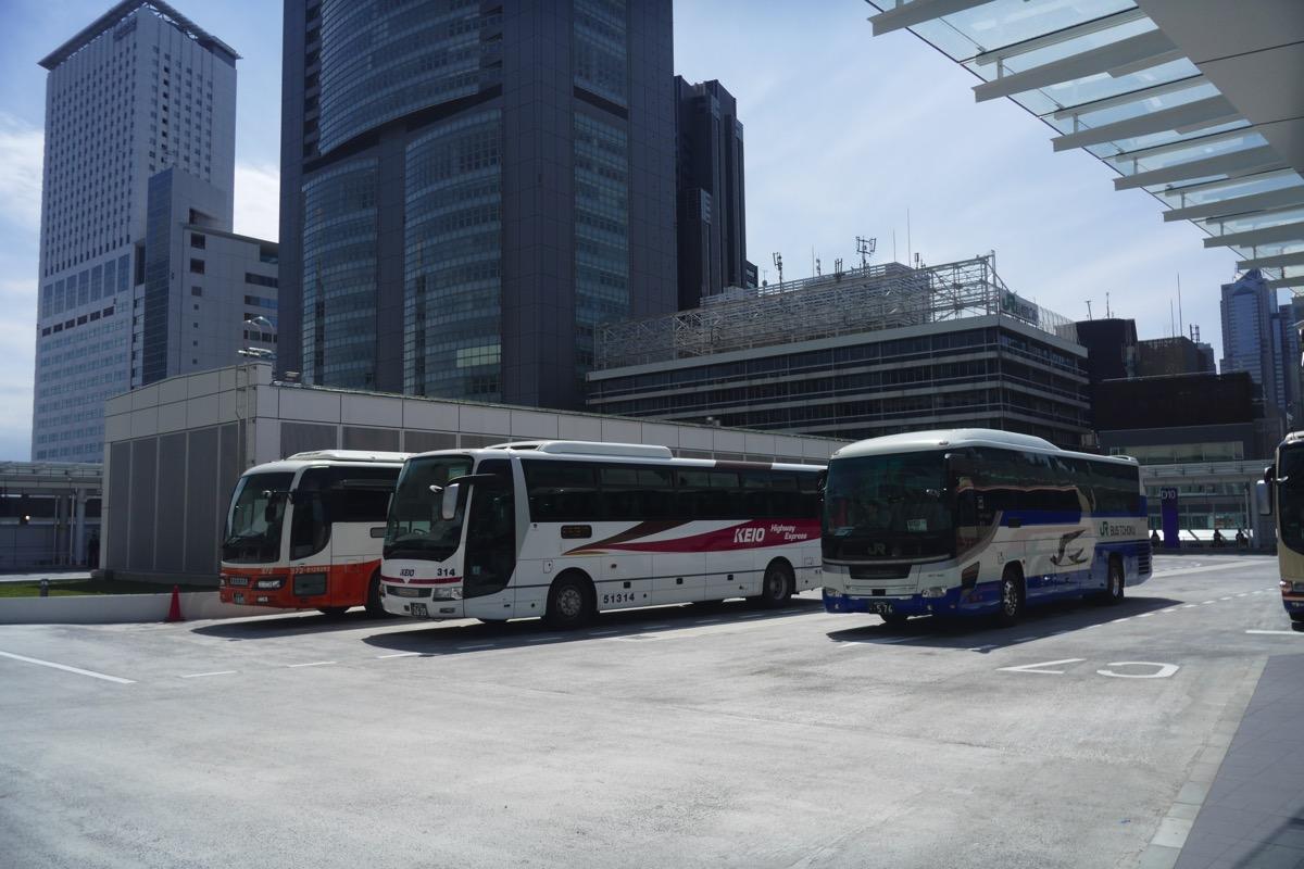バスの乗車エリア