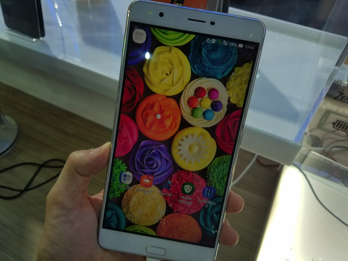 ZenFone 3 Ultra(グローバル版)