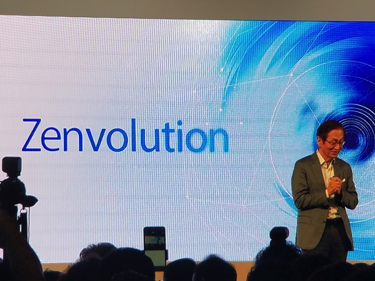 ASUS:台北(台湾)でZenvolutionを開催、ZenFone 3を発表