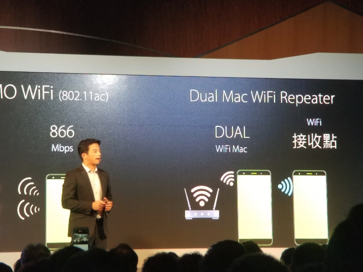 Dual Mac WiFi Repeater