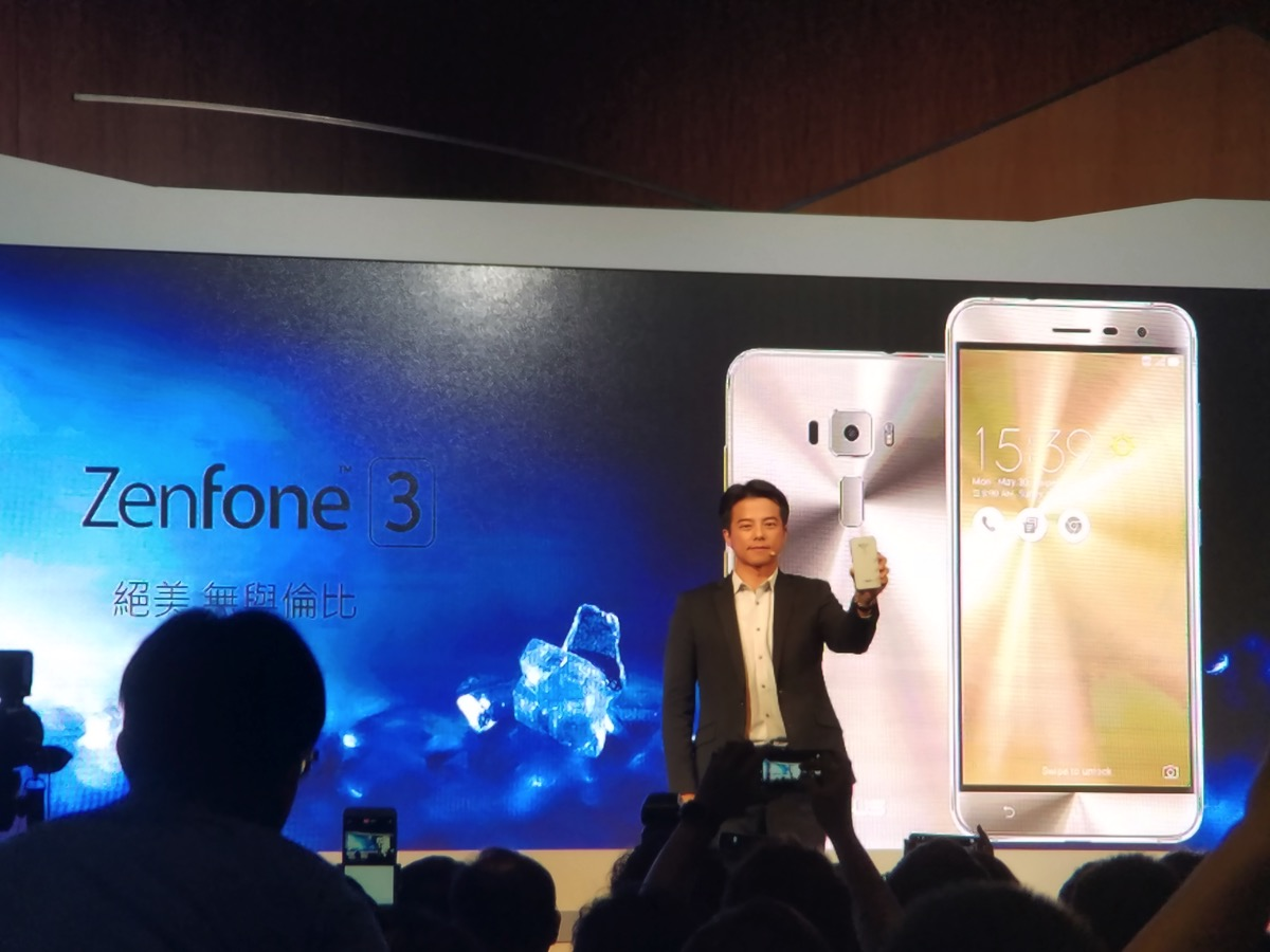 ZenFone 3を発表