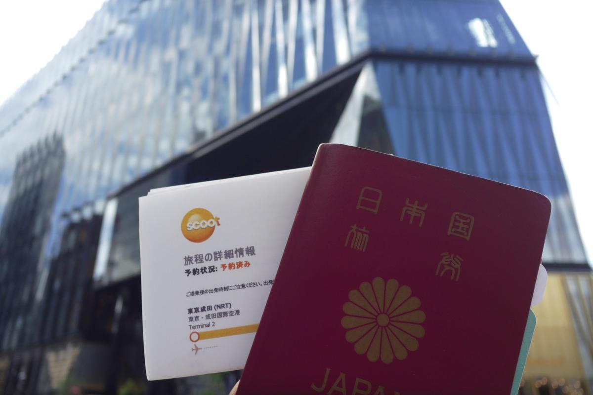 30日以内に出国する予定の日本人も買物ok