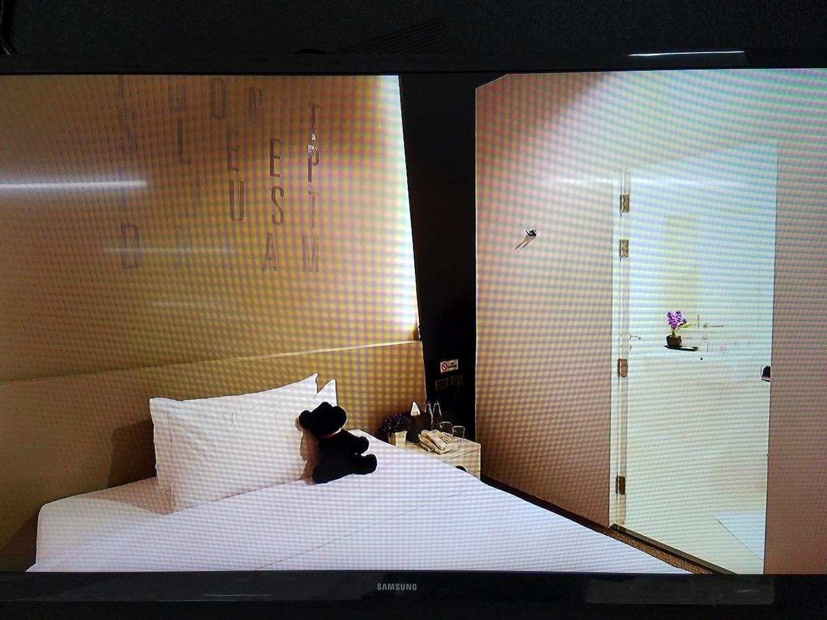 「sleep box」室内の様子