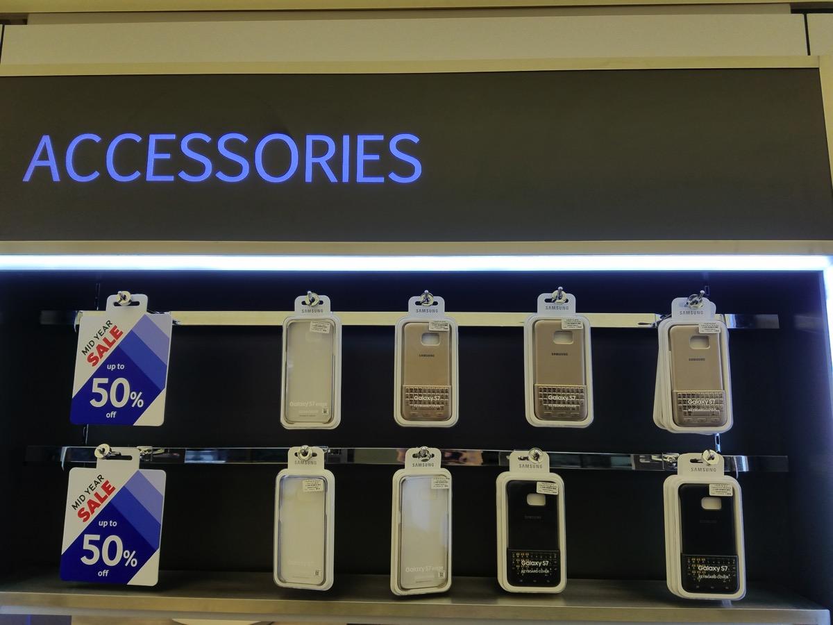 Galaxy S7・S7 edge用純正アクセサリが50% OFF