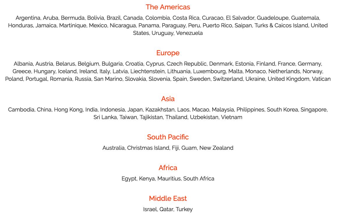 Skyroam:対応エリアが100か国以上に拡大