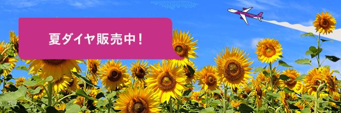 Peach:2017年夏ダイヤを発表、成田-札幌と成田-那覇を運休