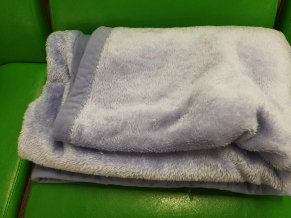 無料貸出される毛布
