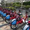 大分市で10月1日から電動アシスト付シェアバイク、ドコモの赤チャリがスタート