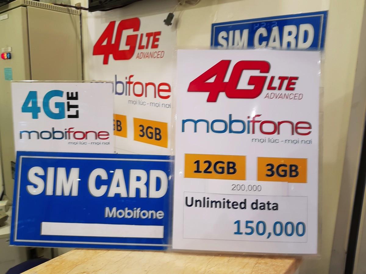 ホーチミン タンソンニャット空港で4G LTE対応プリペイドSIMカードが購入可能に