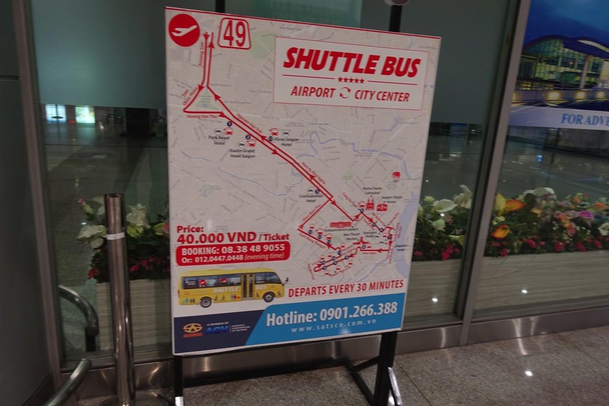 ターミナル内でもバスチケットは購入できる(ただし高い)