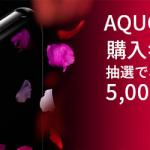 【ドコモ】AQUOS R SH-03J購入者に抽選で5,000ポイントプレゼント