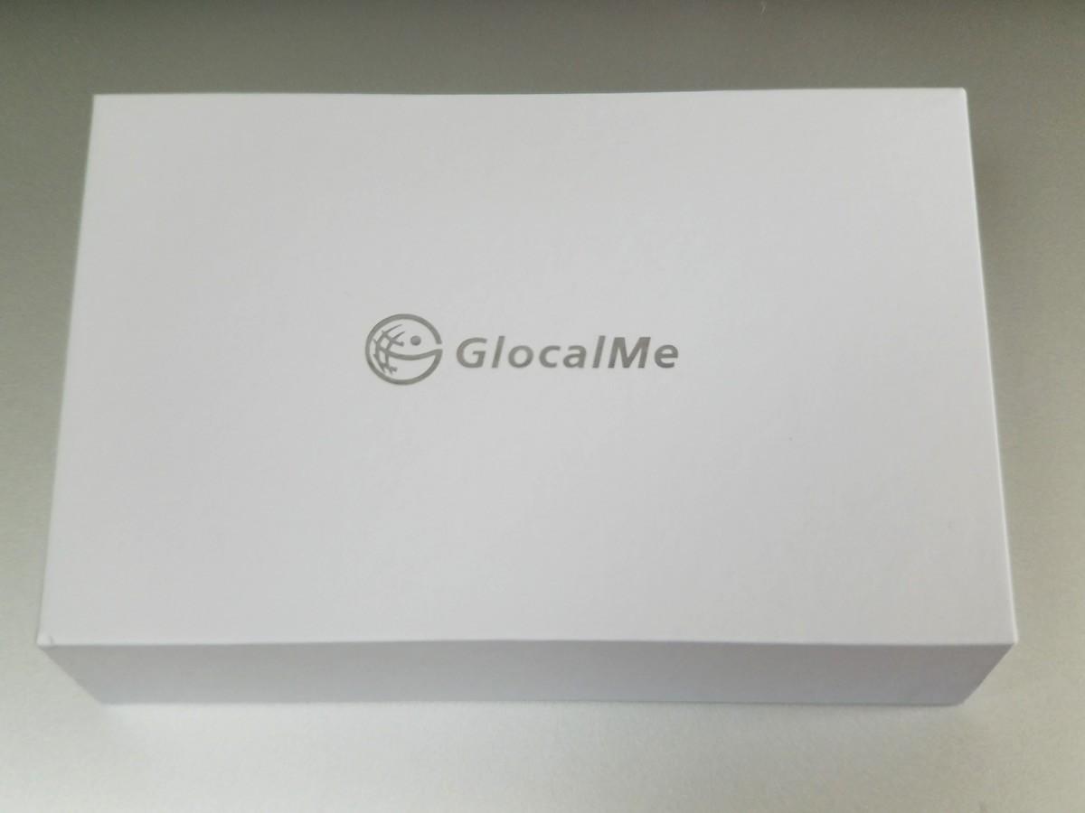 「GlocalMe G3」外箱