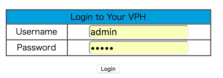 SSID、パスワードを変更する画面はいちおうある