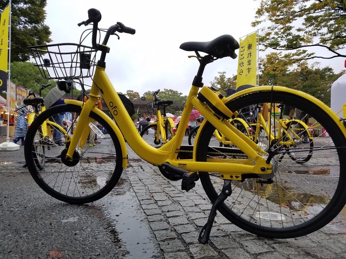 日本参入予定の「ofo」、国内仕様の自転車を展示