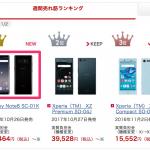 Galaxy Note8がドコモオンラインショップ週間ランキングで1位・予約なし購入できる在庫も入荷