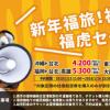 タイガーエア台湾:東京・大阪・福岡〜台湾線でセール!片道4,200円から