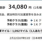 ANA、羽田発着の香港深夜便が往復総額3.4万円、その他国内都市は約4.5万円のセール