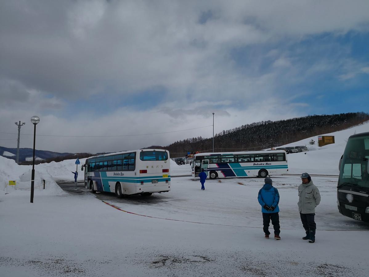 旭山動物園(東門)→旭川グランドホテル直行バス