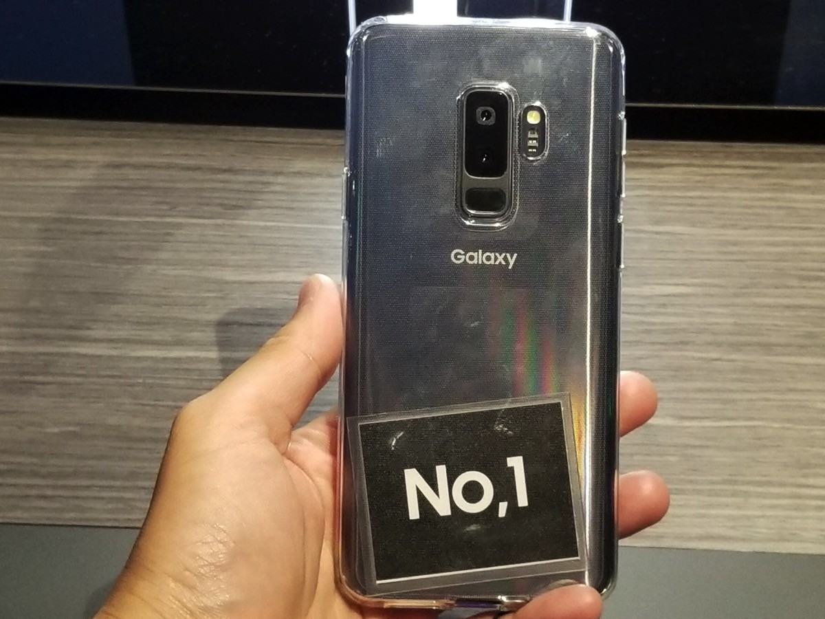 最新のAndroidスマホ「Galaxy S9/S9+」をレンタルできる