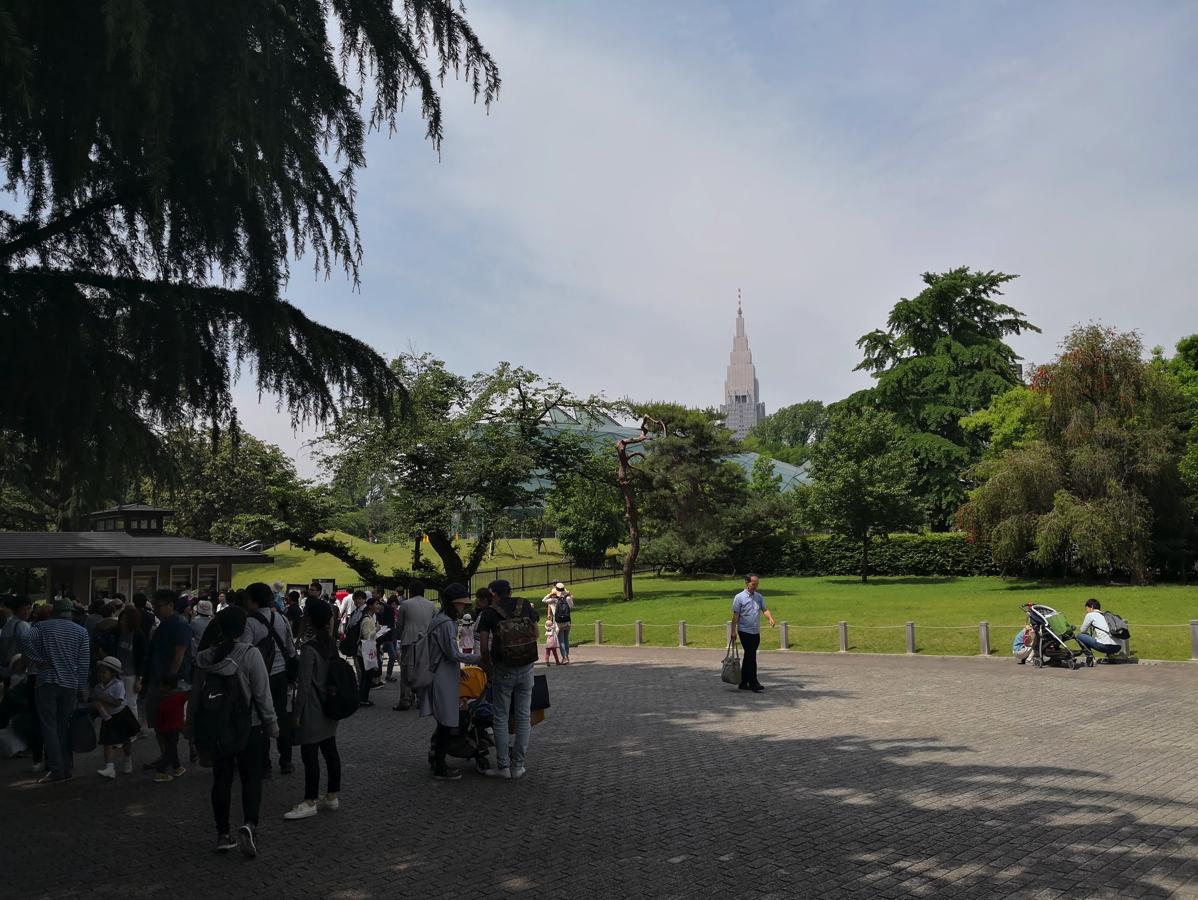 新宿御苑(大木戸門)