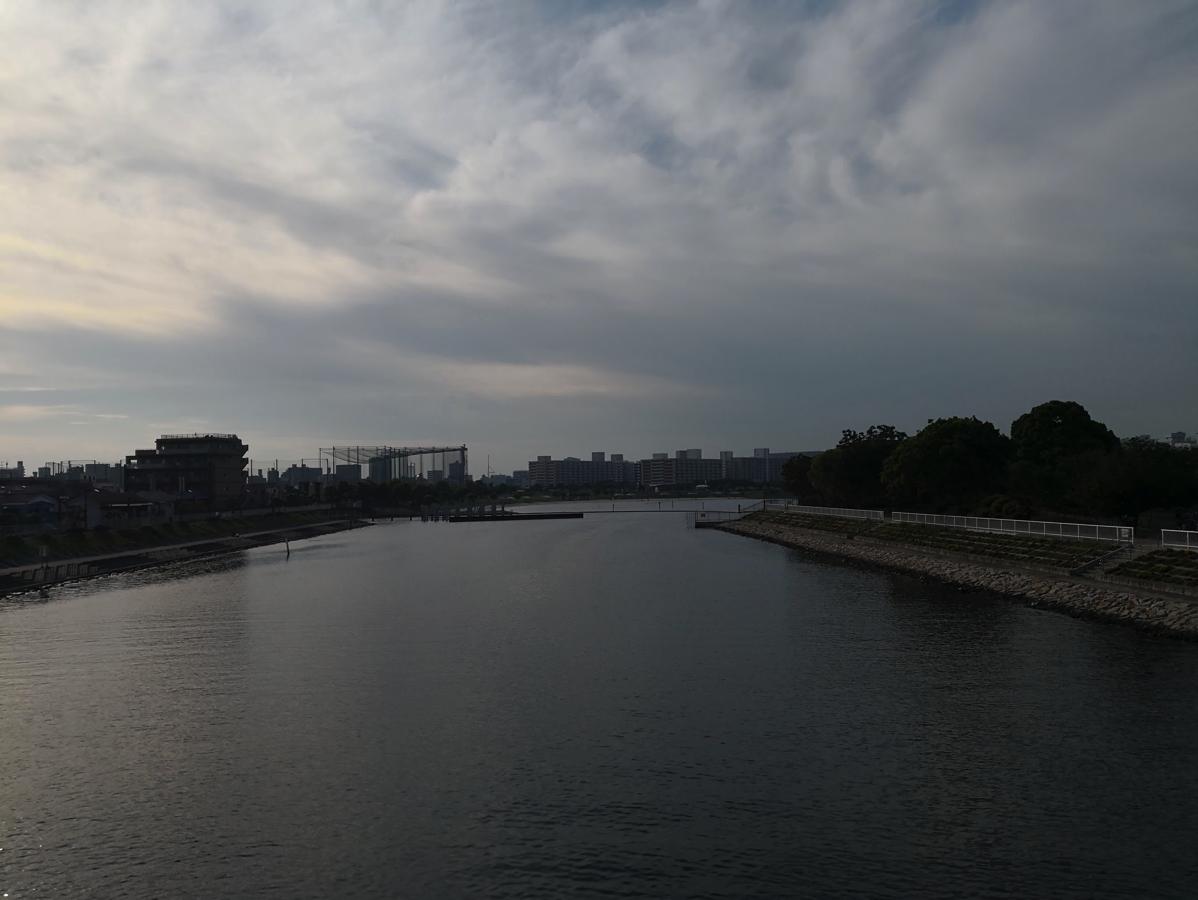昭和島経由で森ヶ崎方面へ(昭和島・見晴らし橋)