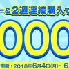 ドコモの出前・宅配サービス「dデリバリー」2週連続で1万円以上注文するともれなく10,000ポイント還元