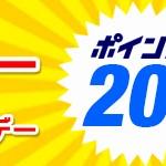 【dショッピング】dポイント20%還元・ポイント利用20%還元。20日限定キャンペーン