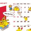 ドコモ、ポインコカレンダーを配布。dポイントクラブ3周年記念で