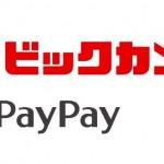 ビックカメラグループ、12月4日から全店で「PayPay」対応。キャンペーンで20%+ビックポイント8%還元