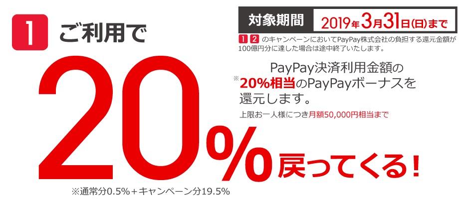 PayPay 100億円あげちゃう キャンペーン|ビックカメラ