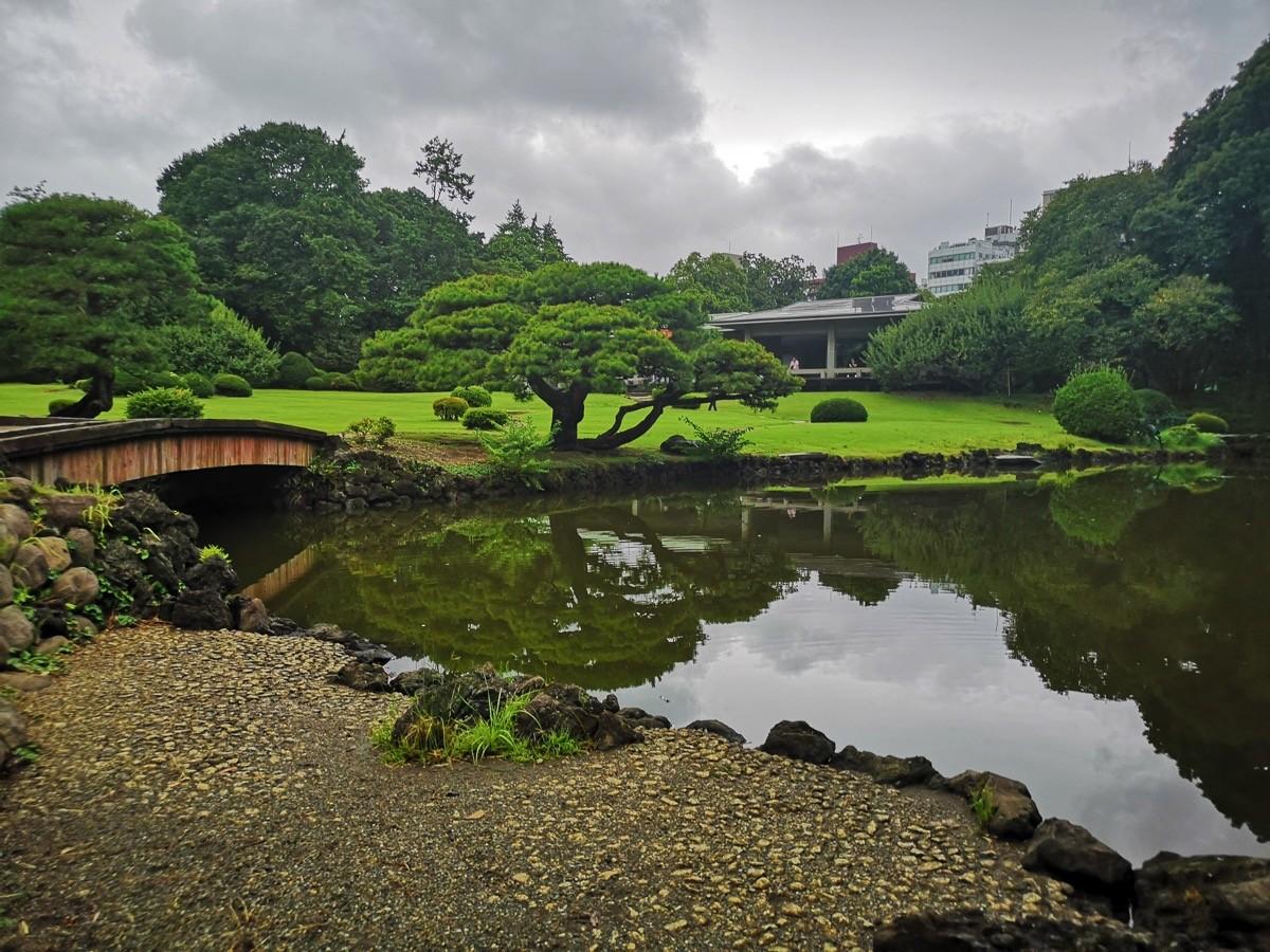新宿御苑(玉藻池付近)